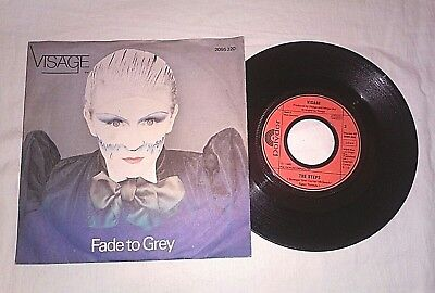 """Visage """"fade To Grey"""" Made In Germany 1980 Single 7"""""""