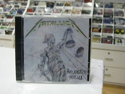Metallica Cd ... And Justice For All 1988