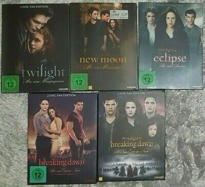 Twilight 1-5 Fan-Edition (Teil 1-3 Neu & OVP) (10 DVD´s) - DVD - Sehr gut