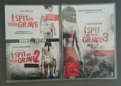 I Spit On Your Grave 1 & 2 (Double Edition) & 3 (NEU & OVP) - DVD