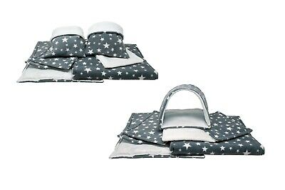 SET of Grey star C&C and Ferplast cage liners
