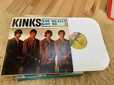 THE KINKS: YOU REALLY GOT ME; Original 1964 Mono LP; Tri-Colored Label; Reprise