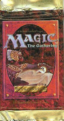 Magic Mtg 4th (fourth) Edition Factory sealed Booster Pack X 3 !