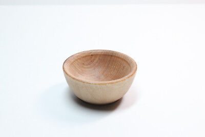 Tiny Pecan Spinning Bowl - Natural Wood Spinning, Children's, or Accessories