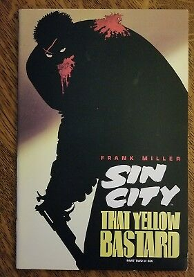 FRANK MILLER/'S SIN CITY JUST ANOTHER SATURDAY NIGHT~WIZARD 1//2~LTD EDITION~VF
