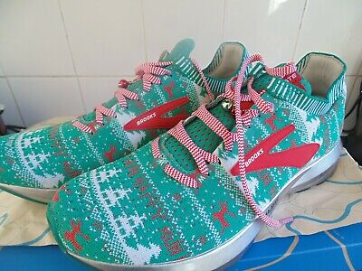 3e3cbc5c7b0 Men s Brooks Levitate 2 Running Trainers Shoes Ugly Christmas Sweater Size  10