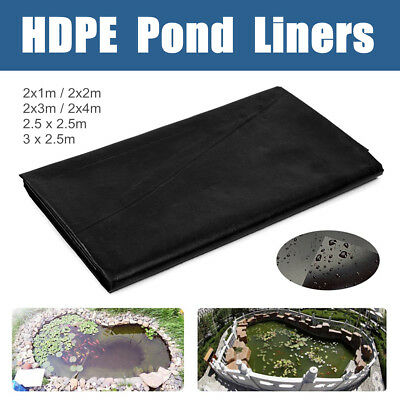 Various Sizes Fish Pond Liners Impermeable Waterproof Landscaping Pools Membrane