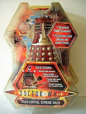 """A Dr Who """" Radio Controlled Supreme Dalek """" In Unopened Original Packaging"""