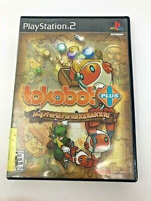 Tokobot Plus Maysteries of the Karakuri Playstation 2 Video Game Complete