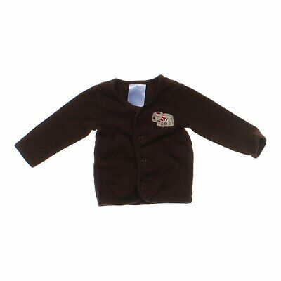 Small Wonders Baby Boys Fashionable Cardigan, size NB,  brown,  cotton