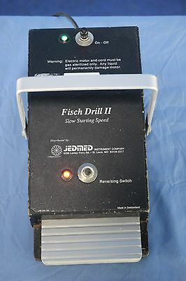 Jedmed Fisch Drill 2 Slow Starting Speed Foot Pedal Switch with Warranty