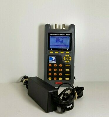 DIRECTV AIM Advance Installation Satellite Signal Meter AIM01R1-12 with Charger