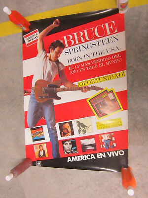 Poster Promocional  Bruce Springsteen Born In The Usa 68 X 98 Cm . Año 1984