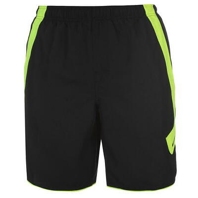 18d1eda46b Mens Nike Core 9 Volley Cargo Board Shorts Black Volt Ness7472-001 Size Xxl