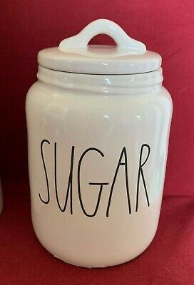 ed808400f6e RAE DUNN MAGENTA Baby SUGAR Canister Large Letter -  23.99
