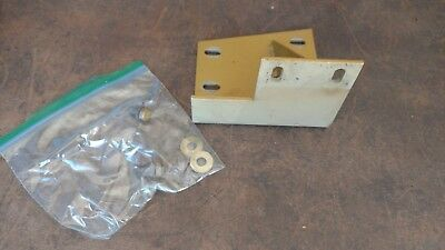 "Powermatic Model 95 24"" Scroll Saw Belt and Pulley Guard Bracket Mount Support"