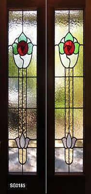 Stained Glass Bifold  Doors