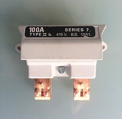 Henley 100A,  415V,  Series 7 Fuse and Fuse Carrier