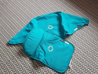 bugaboo cameleon limited edition oceaan blue tailored fabric set hood and apron