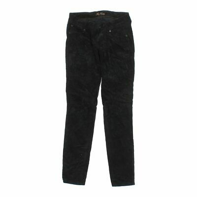Old Navy Girls  Corduroy Pants size JR 1,  black,  cotton, spandex