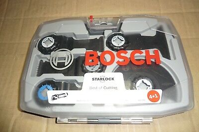 Bosch 5 Pce Starlock Best Of Cutting Saw Blade Set For Pmf Multi Tools