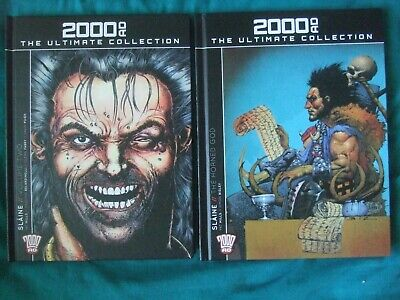 Slaine - 2 Graphic Novels. 2000 AD Ultimate Collection