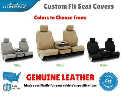 GENUINE LEATHER CUSTOM FIT SEAT COVERS for NISSAN LEAF