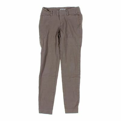 Old Navy Girls  Pants size JR 0,  brown, grey,  cotton, spandex