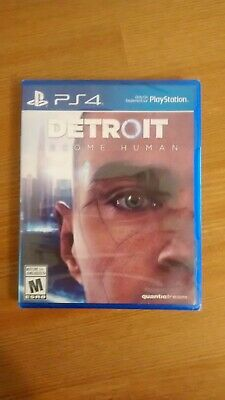 Detroit: Become Human (PlayStation 4, 2018), NEW, SEALED