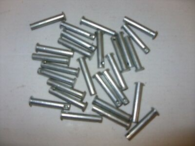 Clevis pins with hole 6 x 32 steel zinc plated x 27