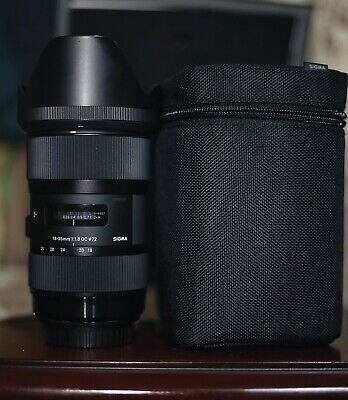 Sigma 18-35mm F1.8 Art DC HSM Lens for Canon.