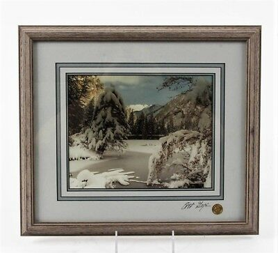 Framed Original Fine Art Photography by Renowned Colorado Artist Art Gore Signed
