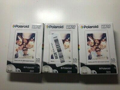 Polaroid PIF300 Instant Film (30 Sheets)