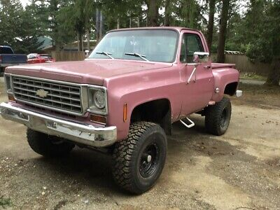 1976 Chevrolet Other Pickups  1976 Chevy Stepside 4x4
