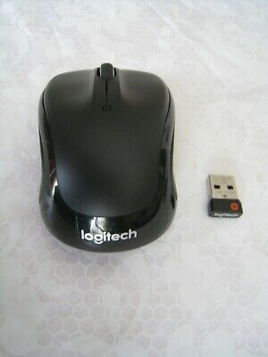 LOGITECH WIRELESS MOUSE M325 w/ Unifying Receiver Black