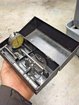 Ames Cylinder Bore Gage Indicator Set In Case Machinist Engine Mechanic Tool
