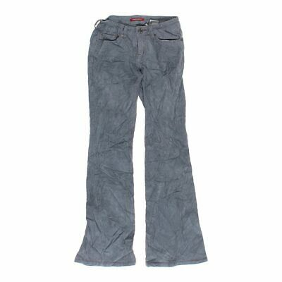 Unionbay Girls Corduroy Pants size JR 1,  grey,  cotton, spandex, corduroy