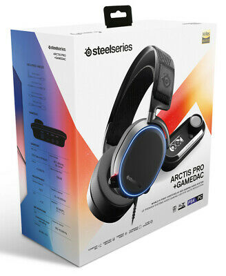 Pc/ps4 Steelseries Headset Arctis Pro + Gamedac  - PlayStation 4 - BRAND NEW