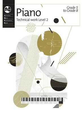 AMEB Piano Series 18 Technical Work Book Level 2 *NEW* Gr.5-8 2019 Syllabus