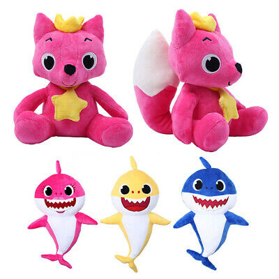 2019 Baby Plush Singing Plush Toys Music Doll English Song Toy Gift Shark