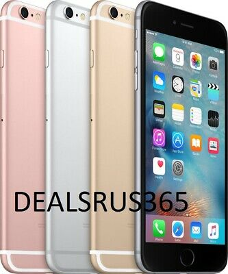 iPhone 6s 16GB Factory Unlocked GSM Space Gray Silver Gold Rose Gold