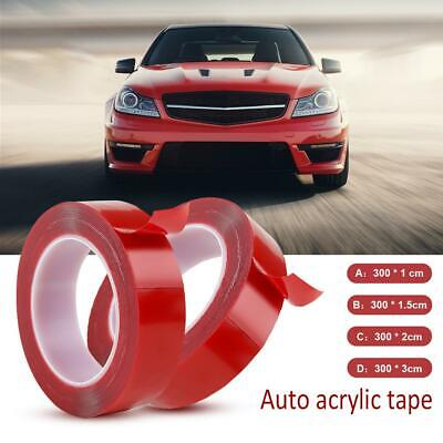 300cm Double-sided Heat Resistant Adhesive Transparent Clear Tape Acrylic Tape