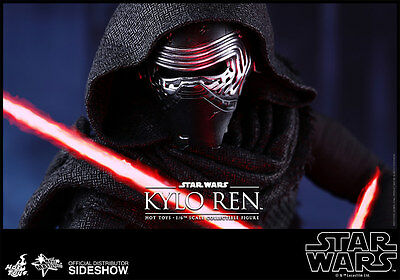 Star Wars~Ep: Vii~The Force Awakens~Kylo Ren~Sixth Scale Figure~Hot Toys~Mibs