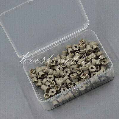 Dental Disposable Prophy Cups Webbed Snap-on Plain Polishing Prophylaxis 100 Pcs