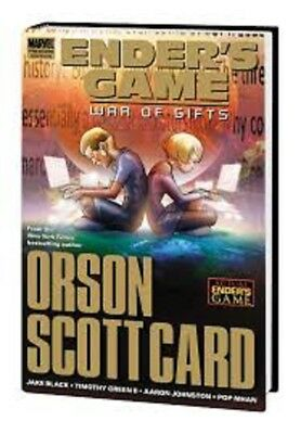 ENDER'S GAME : WAR OF GIFTS Hardcover Graphic Novel (New - Orson Scott Card)