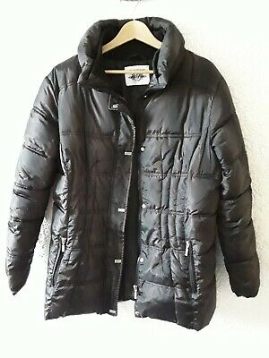 new styles e45da 62cf6 DAMENJACKE ANORAK SCHWARZ Winter Blue Flame Gr.42