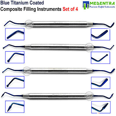 Composite Dental Filling Instrument Titanium Light Weight Restorative Spatula CE