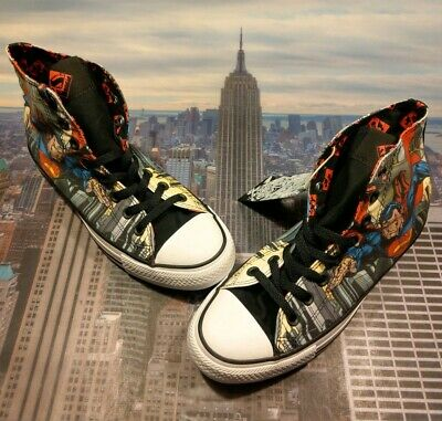 150d3e0f80ee Converse Chuck Taylor All Star High Top DC Comics Superman Mens Size 5  154875c