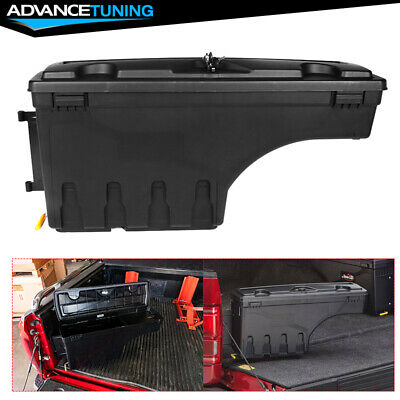 Fits 02-18 Ram 1500 2500 3500 ABS Truck Bed Storage Box Toolbox Driver Side