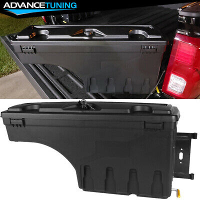 Fits 15-19 Ford F150 ABS Truck Bed Storage Box Passenger Side